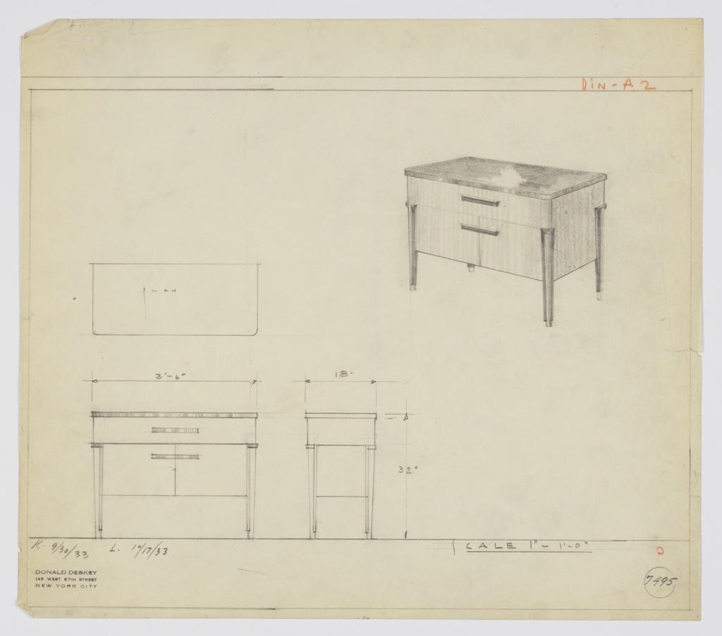 Drawing, Design for Server