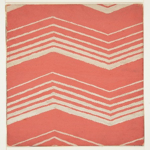 Drawing, Textile Design: Chevron Pattern