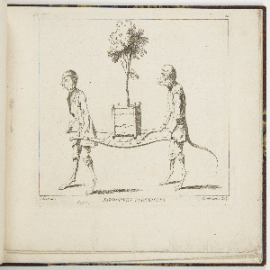 Bound Print, Plate 4, Jardiniers Fleuristes (Horticulturists), Nouveau Livre de Singes (New Book of Monkeys)