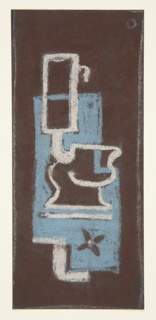 Drawing, Bathroom Mat Design: Toilet