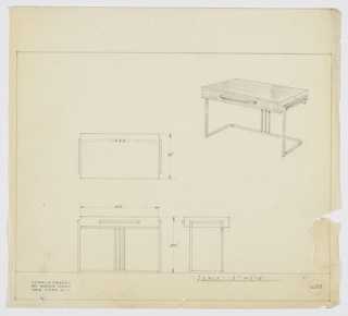 Drawing, Design for Desk