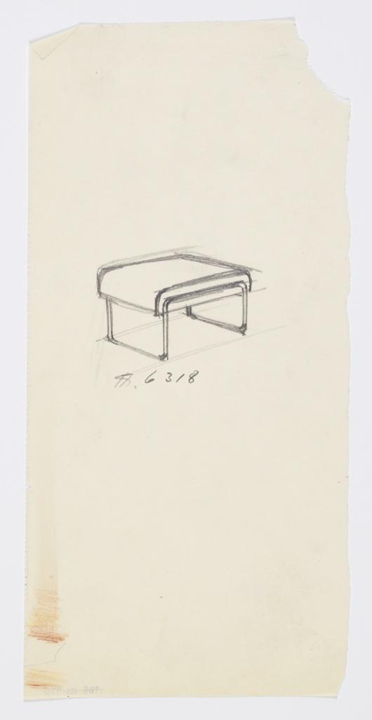 Drawing, Stool, ca. 1934