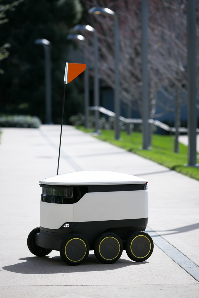 Starship Delivery Robot, 2015