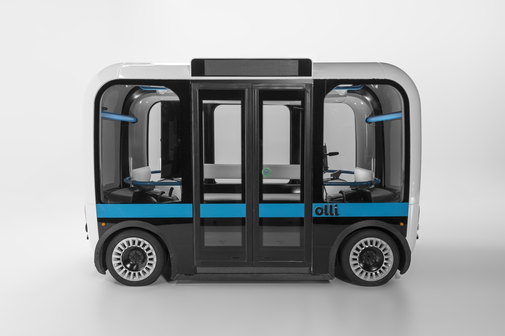 Accessible Olli Shuttle, 2018