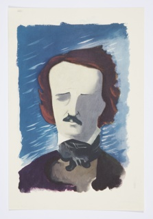 Print, Illustration for The Complete Poems and Stories of Edgar Allan Poe