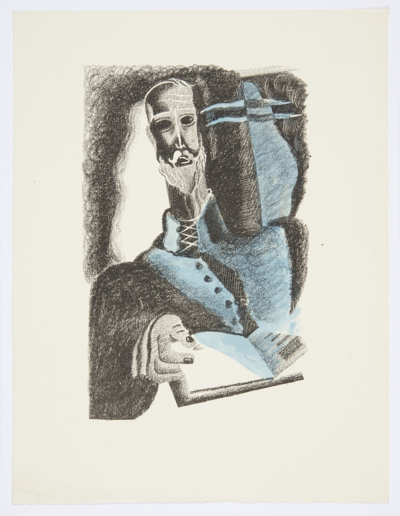Print, Illustration for Don Quixote