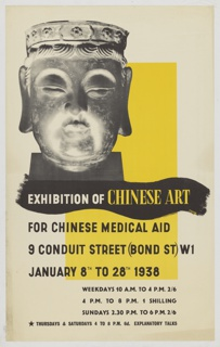 Poster, Exhibition of Chinese Art