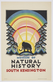 Poster, Museum of Natural History