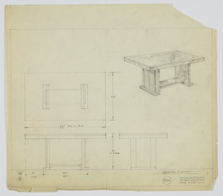 Drawing, Table