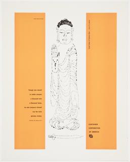 Print, Great Ideas of Eastern Man Featuring Buddha