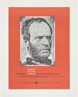 Print, Great Ideas of Western Man Featuring William Tecumseh Sherman