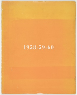 Portfolio Folder, 1958-59-60, Great Ideas of Western Man Series