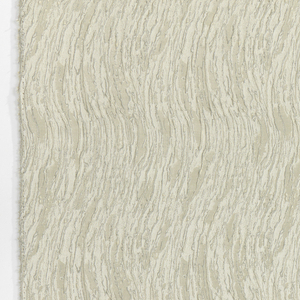 White-on-white textured surface gives the effect of stucco or white paint thickly applied in subtle waves.