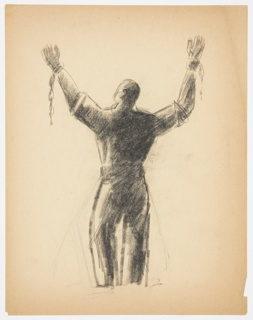 Drawing, Study for a Prisoner