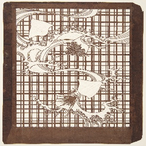 Katagami, Waves and Chidori Birds on a Lattice