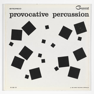 Record Cover, Provocative Percussion