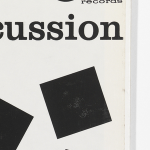 Record Cover, Provocative Percussion
