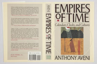 Book Cover, Empires of Time: Calendars, Clocks, and Cultures