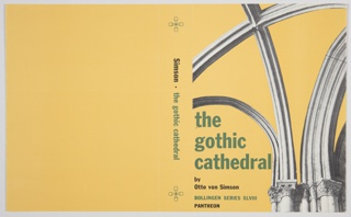 Book Cover, The Gothic Cathedral
