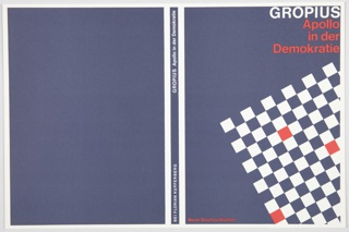 Book Cover, Apollo in der Demokratie