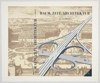 Book Cover, Raum, Zeit, Architektur (Space, Time, Architecture)