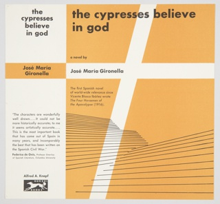 Book Cover, The Cypresses Believe in God