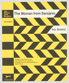 Book Cover, The Woman from Sarajevo