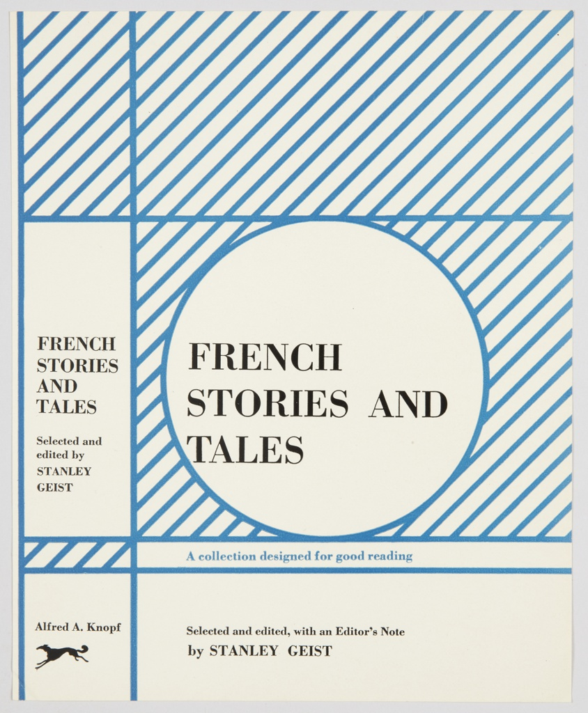 Book Cover, French Stories and Tales