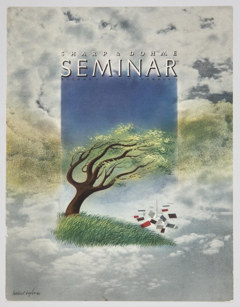 Magazine Cover, Sharp & Dohme Seminar, Vol. 3, No. 2