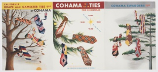 Booklet, Cohama Ties for Christmas
