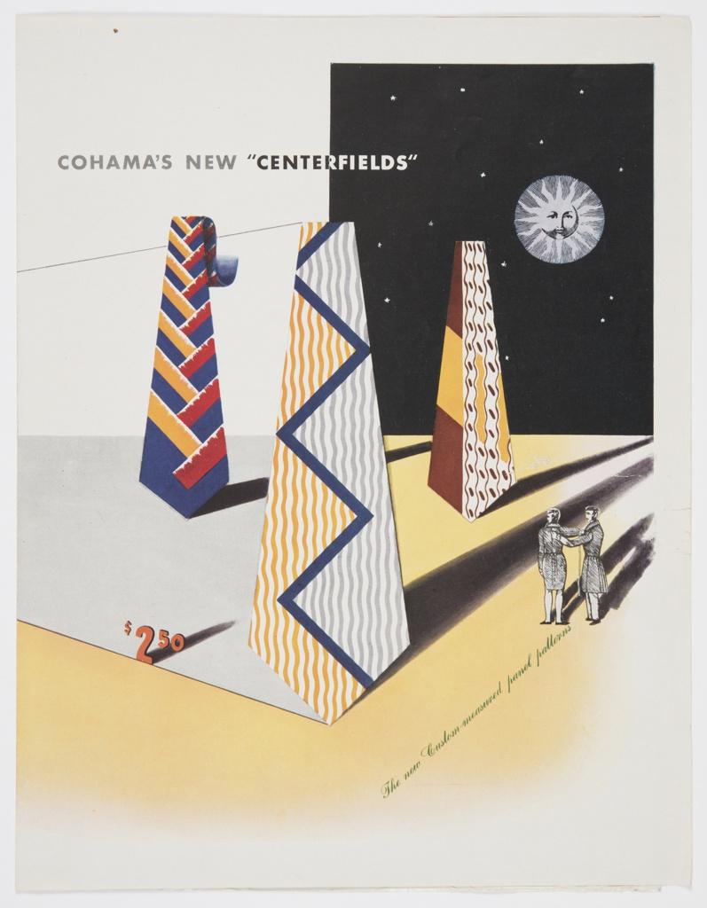 "Print, Cohama's New ""Centerfields"""