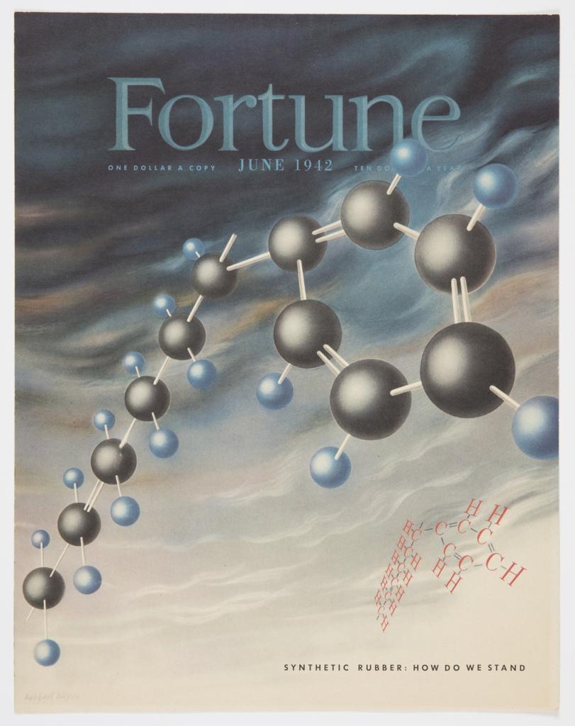 Magazine Cover, Fortune, Vol. 25, No. 6