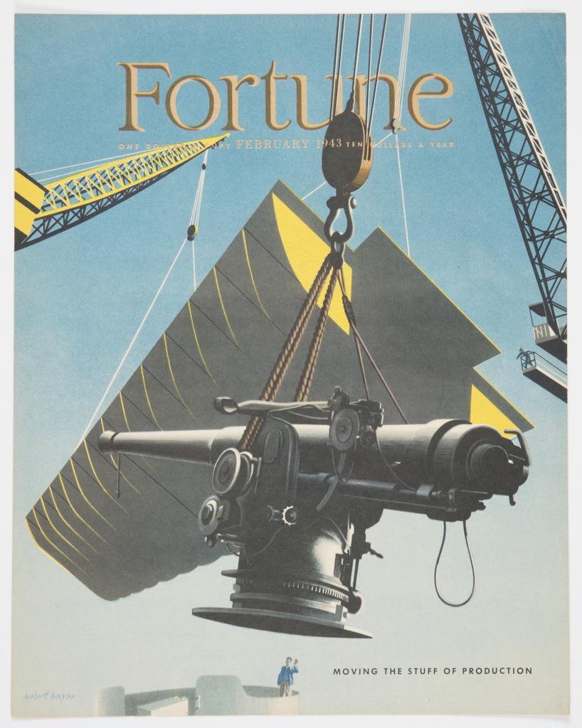 Magazine Cover, Fortune, Vol. 27, No. 2