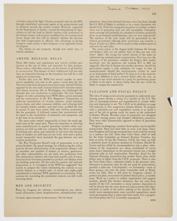 Print, Biology of C.S.C., Page 134 from Fortune