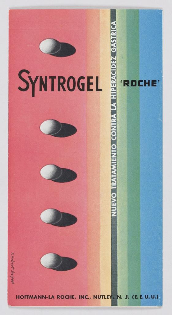 Brochure, Syntrogel: Nuevo Tratamiento Contra la Hiperacidez Gastrica (New Treatment Against Gastric Hyperacidity)