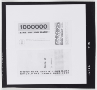 Photograph, Design for German Inflationary Money