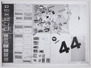 Print, Bauhaus Birthday Paste-Up Design
