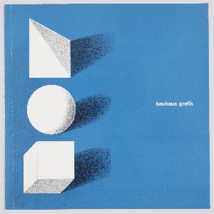 Book Cover, Bauhaus Grafik