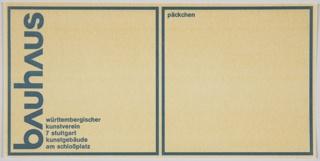 Print, Bauhaus Ausstellung
