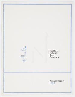 Booklet Cover, Northern Natural Gas Company Annual Report