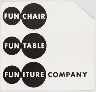 Print, Fun Chair, Fun Table, Funiture Company