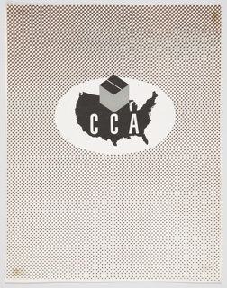 Booklet Cover, CCA