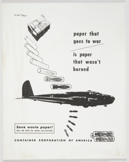 Print, Paper That Goes to War Is Paper That Wasn't Burned