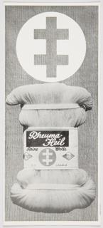Brochure, Rheuma-Heil, Reine Wolle (Rheuma-Heil, Pure Wool)