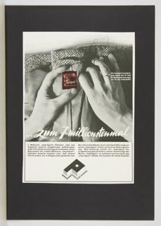 Print, Zum 7-millionstenmal (For the 7 Millionth Time)