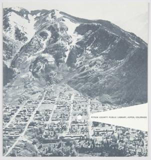 Brochure, Pitkin County Public Library, Aspen, Colorado