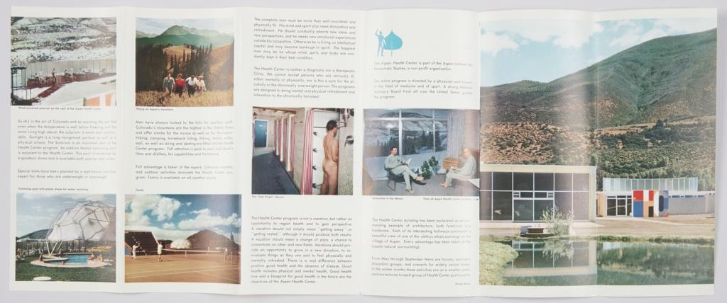 Brochure, The Aspen Health Center, Aspen, Colorado