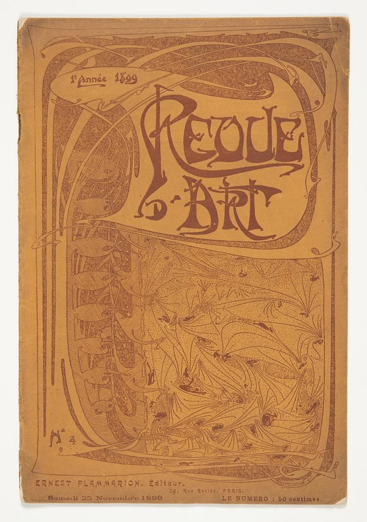 Journal, Revue d'Art, No. 4