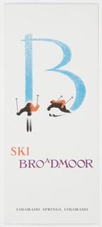 Brochure, Ski Broadmoor