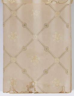 Samples includes a range of papers including ceiling papers, imitation leather papers, cut-out borders, and a coffered panel design.